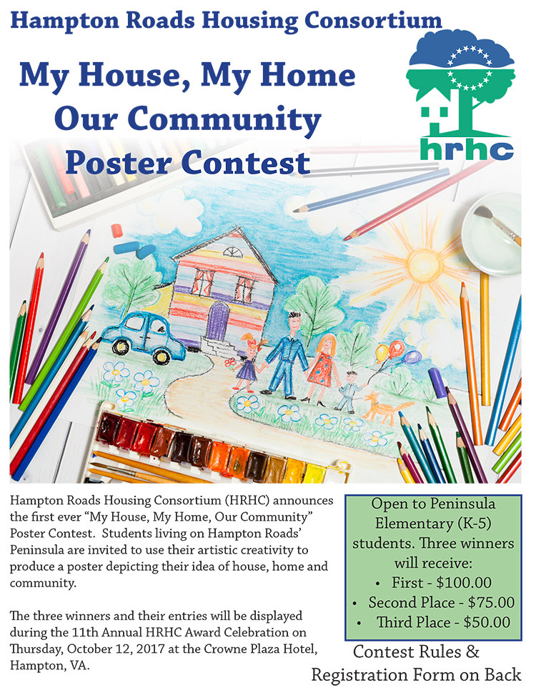 Image of the Flyer for the HRHC Poster Contest