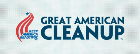 Great American Cleanup Banner