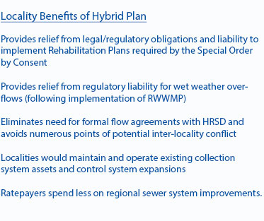 Locality Benefits of Hybrid Plan