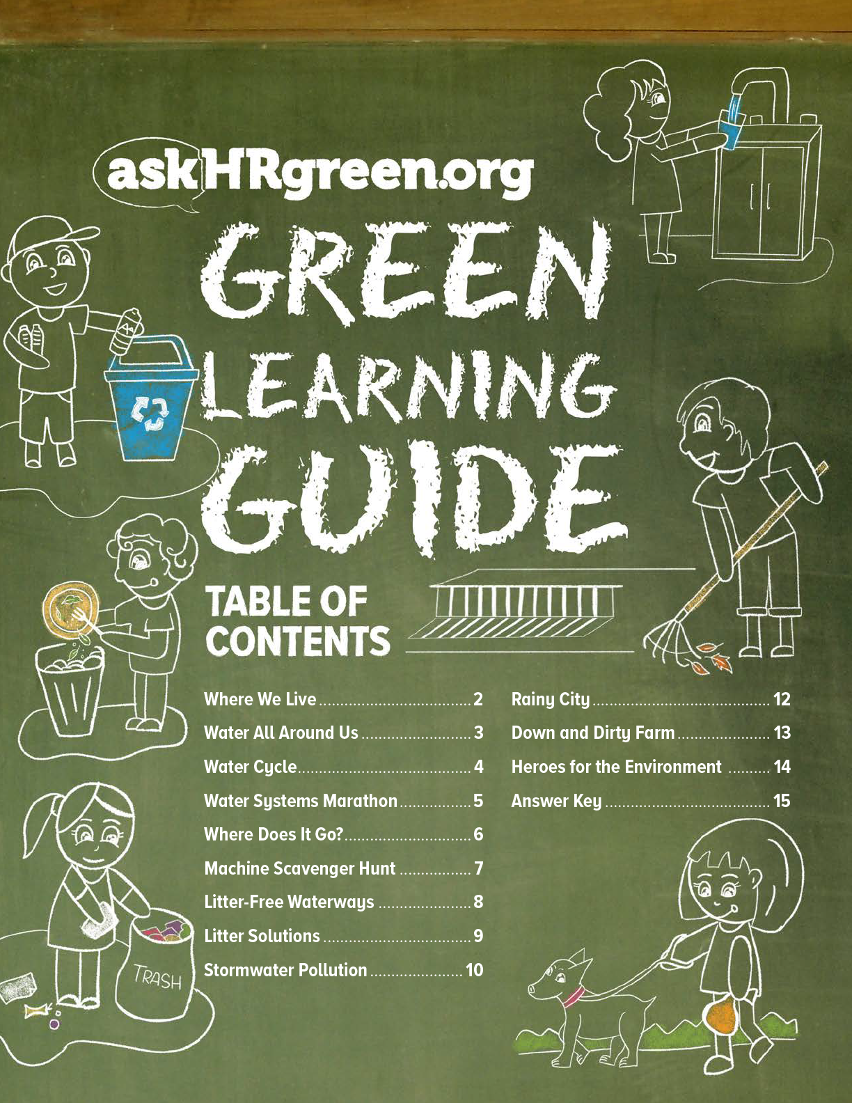 Cover Image of Green Learning Guide