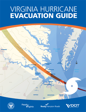 2013 VA Hurricane Evacuation Guide Cover