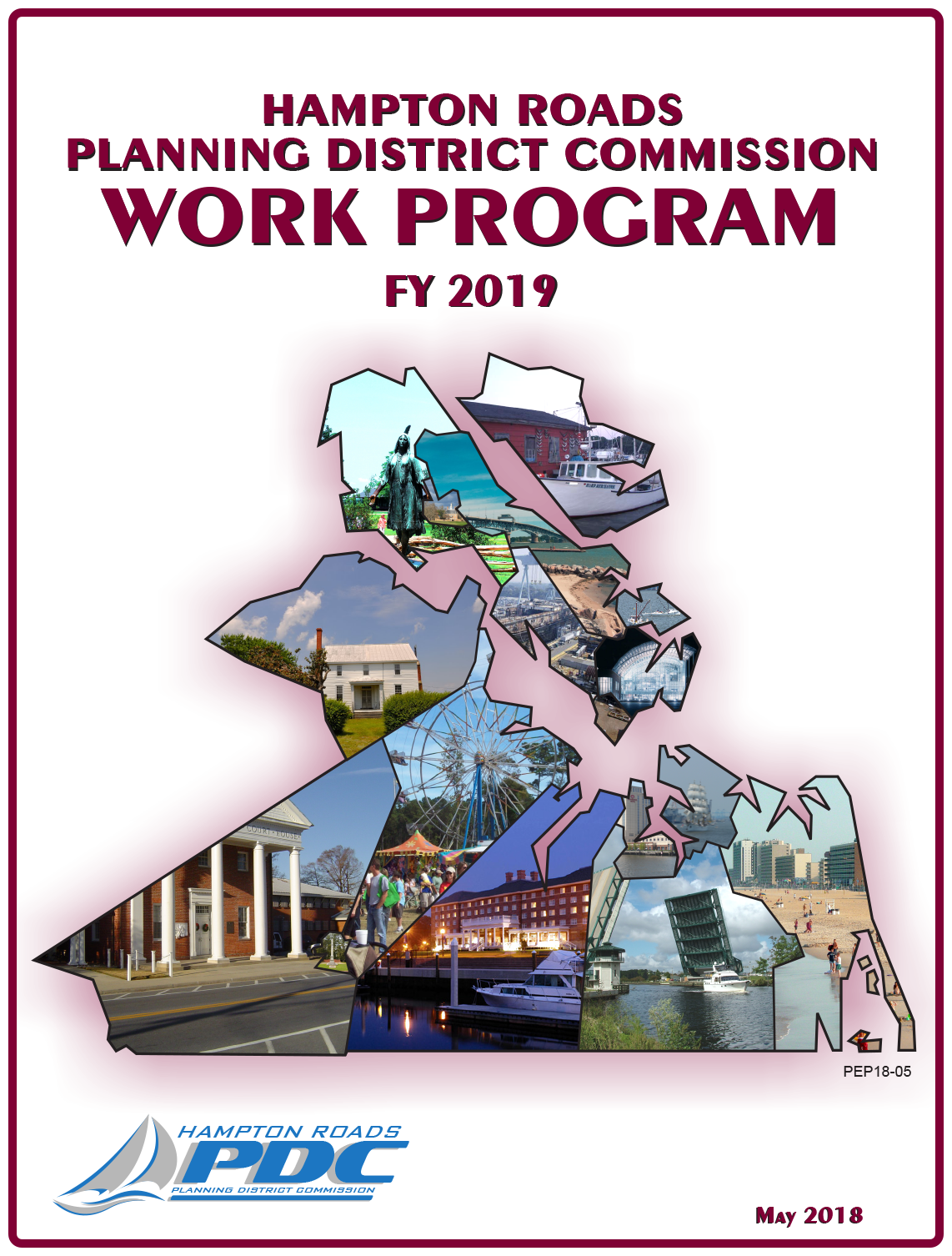 FY2019 HRPDC Work Program Cover