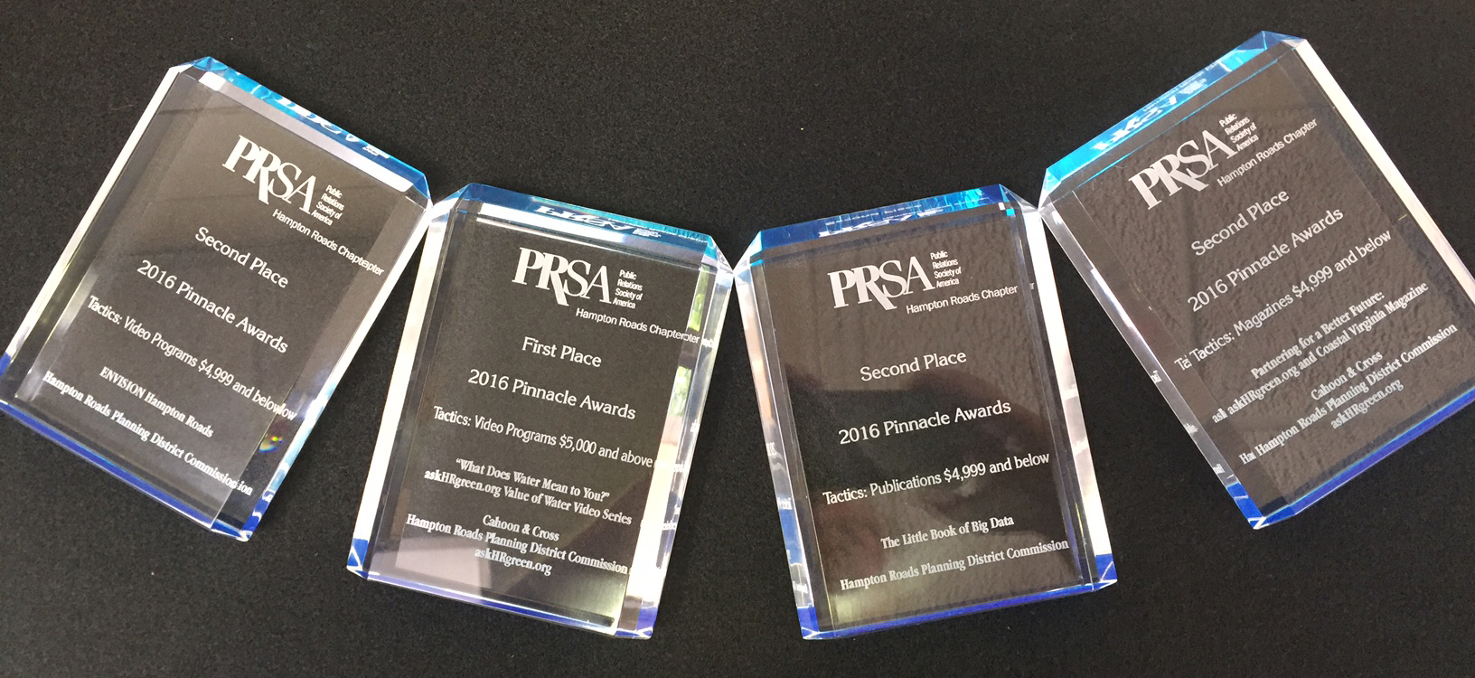 2016 HR PRSA Pinnacle Awards Presented to the HRPDC