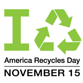 America Recycles Day Logo