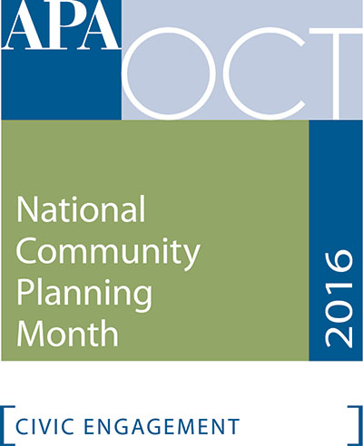 APA October Planning Month Graphic
