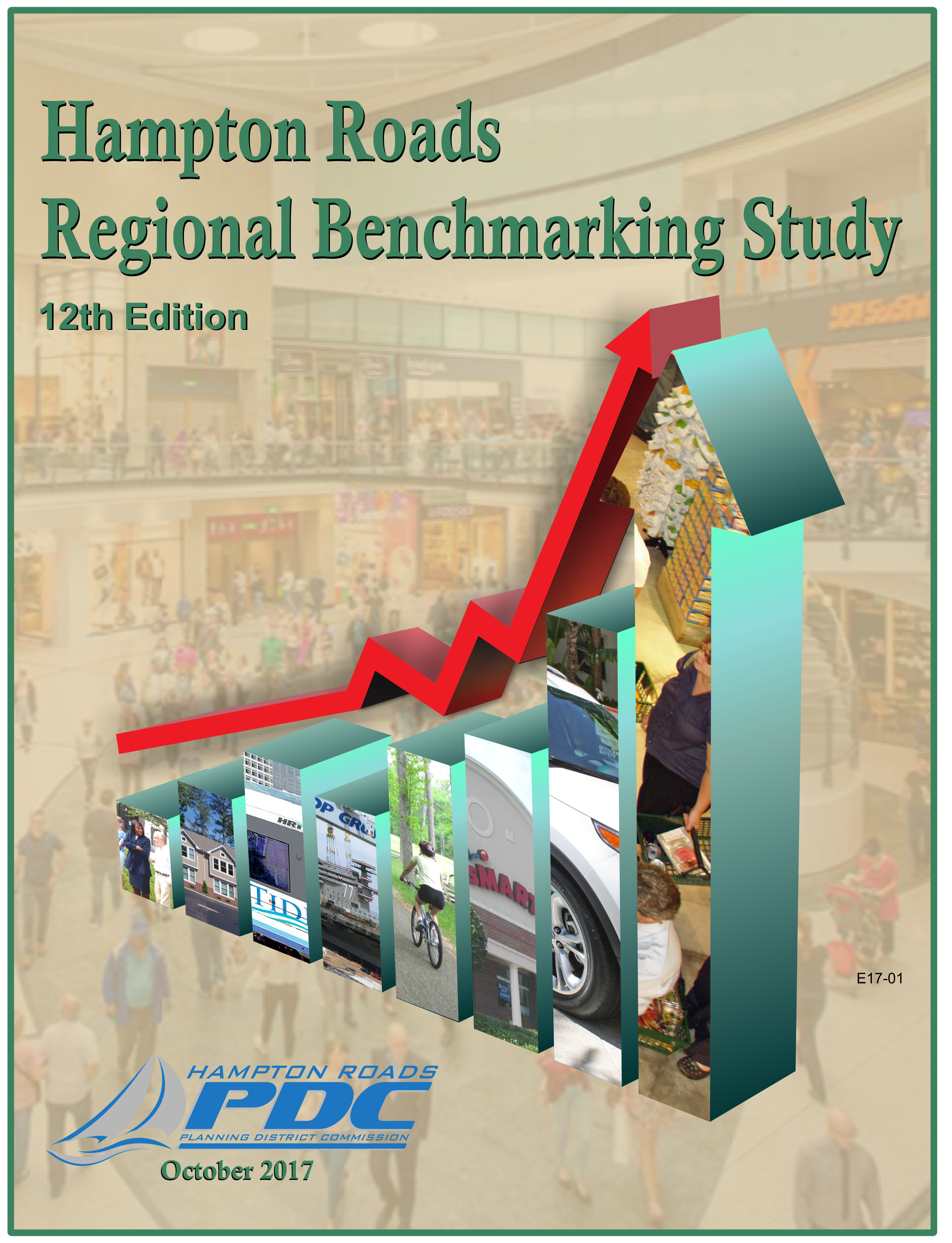 Cover of the 12th Edition of the Annual Hampton Roads Regional Benchmarking Study