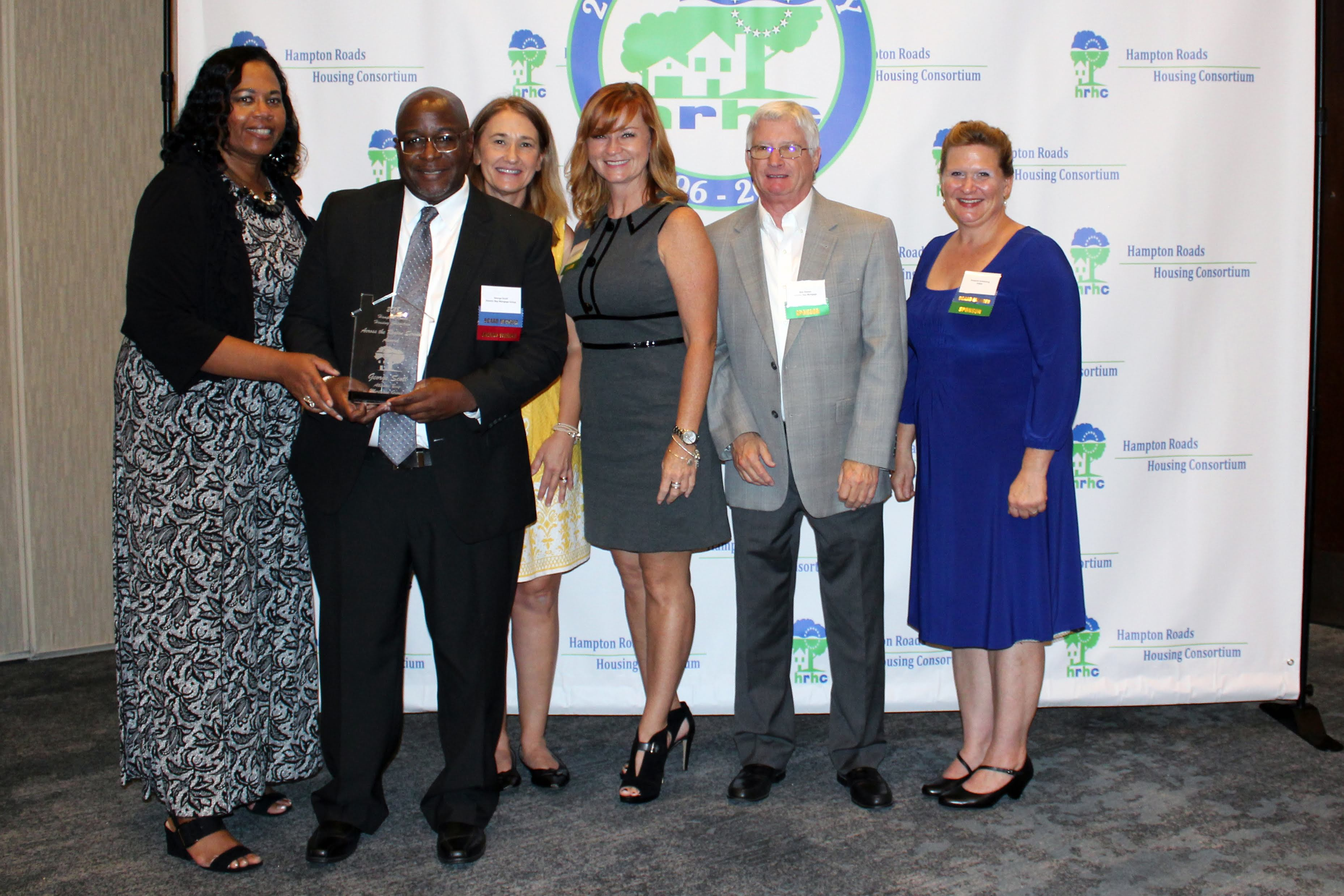 Photo of George Scott, HRHC Across the Region Service Award