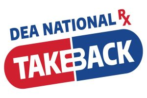 Logo for the DEA National Prescription Drug Takeback