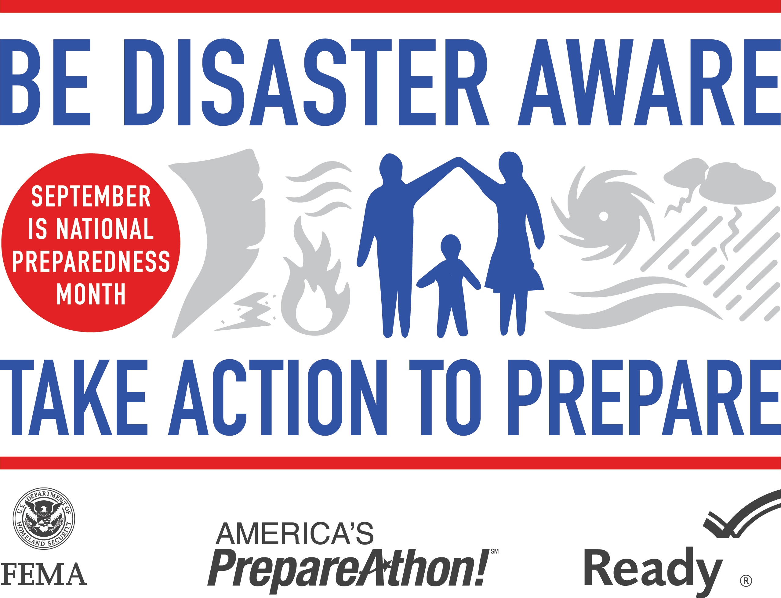 2014 National Preparedness Month Logo