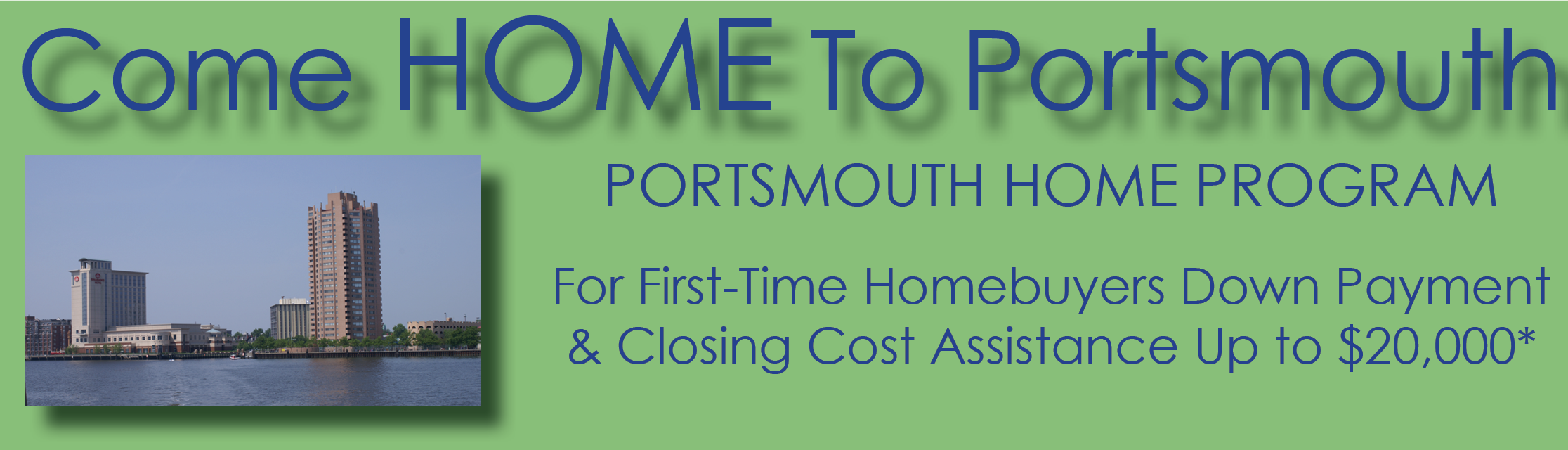Come HOME to Portsmouth Banner