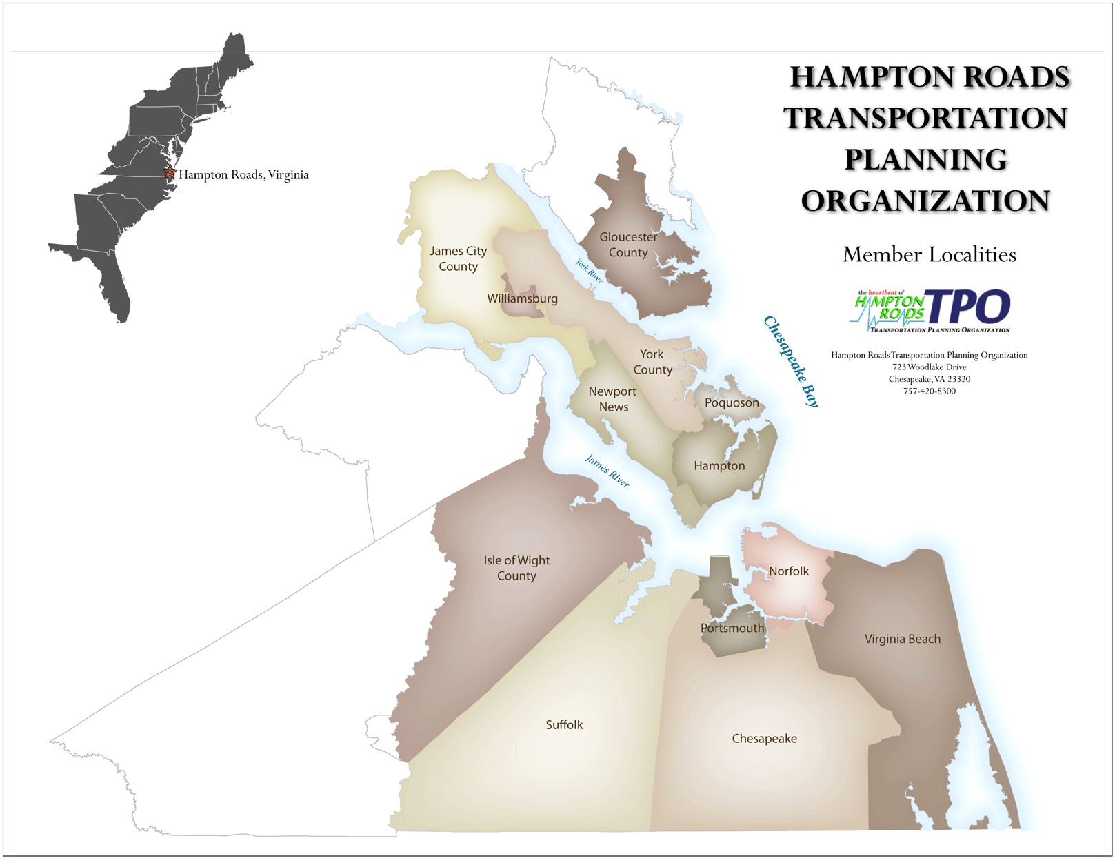 HRTPO Jurisdictions