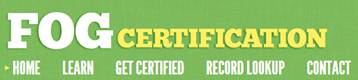FOG Certification Banner