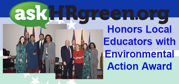 askHRgreen.org Honors Local Educators with Environmental Action Awards