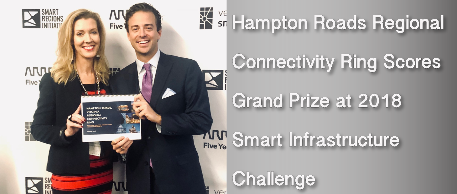 Regional Connectivity Ring Is Grand Prize Winner at the 2018 Smart Infrastructure Challenge